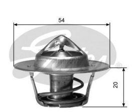 GATES Coolant Thermostat: TH00182G2