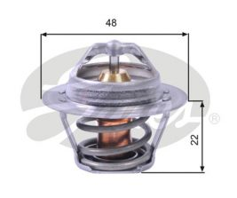 GATES Coolant Thermostat: TH00391G1