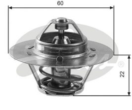 GATES Coolant Thermostat: TH12480G1