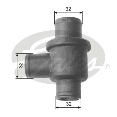 GATES Coolant Thermostat: TH15587