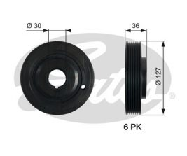 GATES Pulley: TVD1097